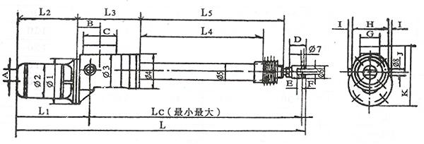 浅析小型电动推杆内部结构图有什么特点